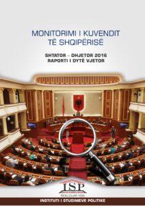 RAPORT MBI MONITORIMIN E KUVENDIT: JANAR-KORRIK 2017