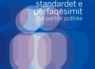 STANDARDET E PËRFAQËSIMIT NË PARTITË POLITIKE