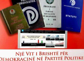 RAPORT I MONITORIMIT MBI DEMOKRACINE E BRENDSHME TE PARTIVE 2016